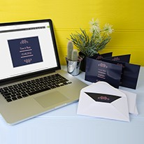 Customise your wedding invitations with WePrint