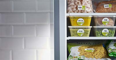 How to make labels Fridge Friendly
