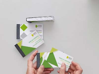 Business Card Booklets