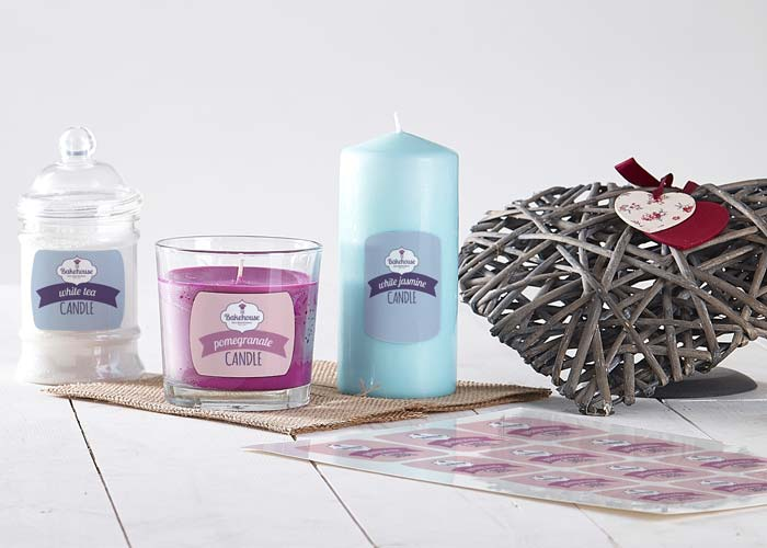 Candle Labelling