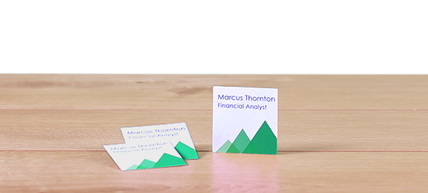 Avery WePrint Square Business Cards