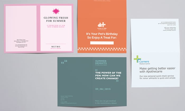 Avery WePrint Greetings cards