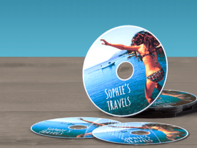 Avery WePrint Personalised CD and DVD Labels