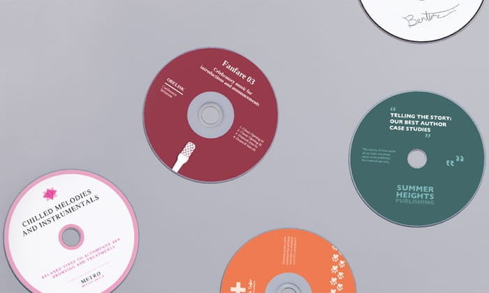 Avery WePrint Printed CD's, DVD's and Blu-rays