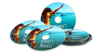 Printed Recordable Blu-ray, CD & DVD